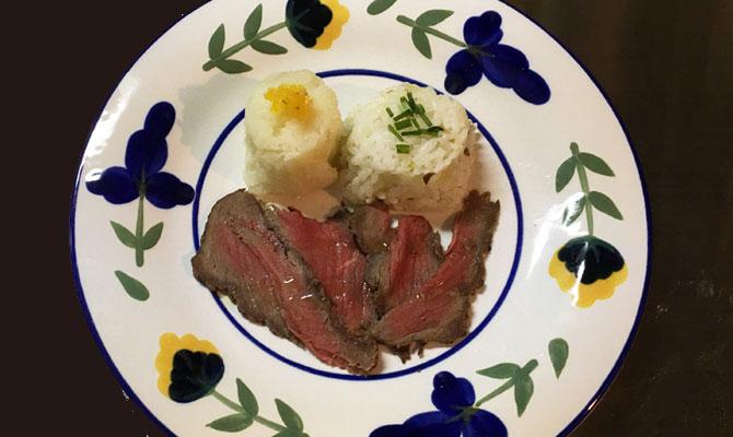 エゾシカ料理