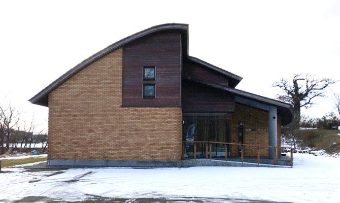 伊達市の北黄金貝塚情報センター