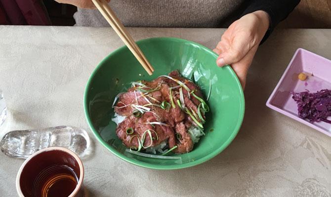 エゾシカ丼