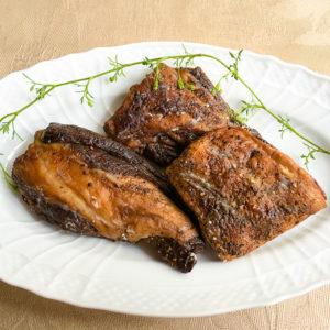 エゾシカバラ肉燻製