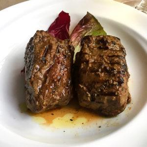 ロース肉のグリル200g